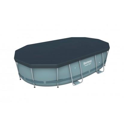 Piscine hors sol ovale Power Steel Bestway - 488 x 305 x 107 cm