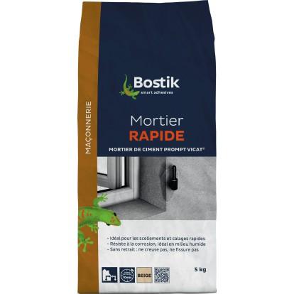 Mortier rapide Bostik - Sac papier 5 kg
