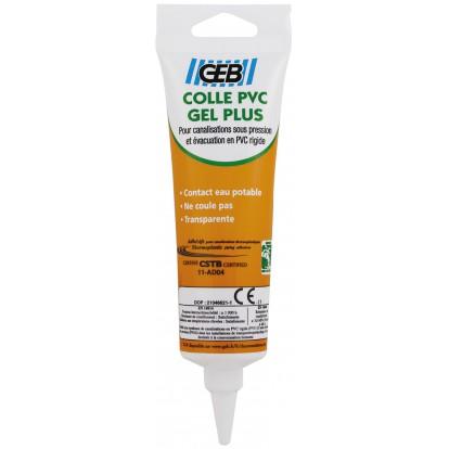 Colle gel plus PVC Geb - Tube 125 ml