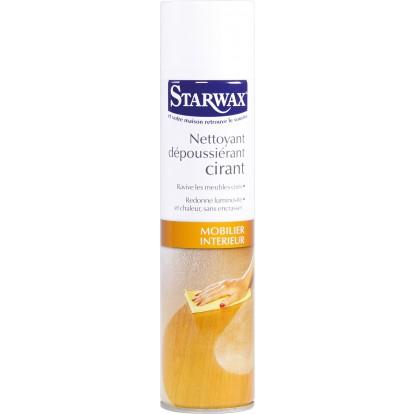 Dépoussiérant-cirant meubles Starwax - Aérosol 400 ml