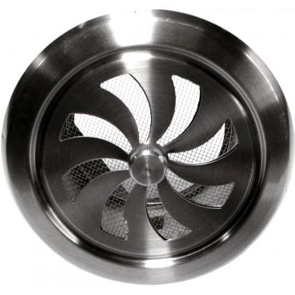 Grille inox réglable DMO - Ronde - Diamètre 100 mm
