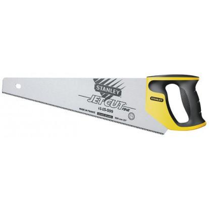 Scie égoïne jet cut Stanley Jetcut - 11 dents/pouce - Fine - Longueur 500 mm