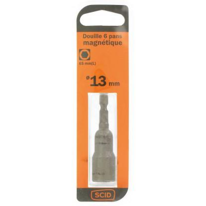 Douille 6 pans magnétique SCID - 13 mm