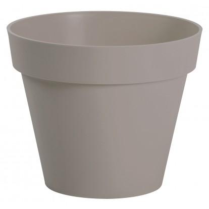 Pot gamme Pop Eda - Diamètre 60 cm - 76 l - Taupe