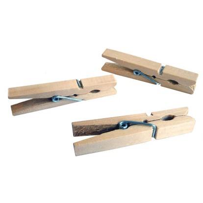 Pince à linge en bois Laguelle - Vendu par 24
