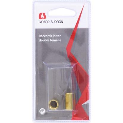 Raccord lustrerie Girard Sudron - 2 Femelles - Vendu par 2