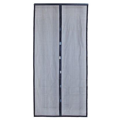 Rideau moustiquaire de porte aimanté Moustimagnet Morel - Largeur 100 cm