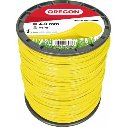 Fil rond pour débroussailleuse Oregon - Longueur 95 m - Diamètre 4 mm