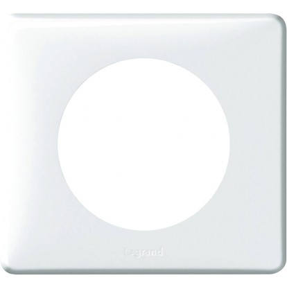 Plaque 1 poste Legrand - Céliane - Mémories - Yesterday blanc