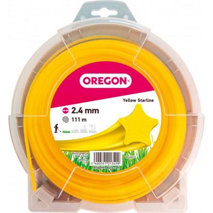 Fil étoile à bords tranchant Oregon - Longueur 111 m - Diamètre 2,4 mm