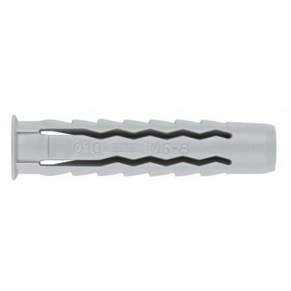 Cheville nylon quadruple expansion Fix'Pro - Longueur 70 mm - Diamètre 14 mm - Vendu par 4