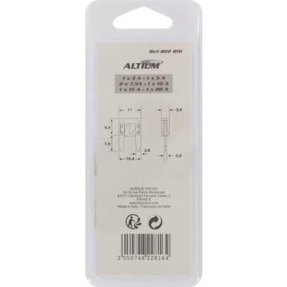 Mini fusibles enfichables Altium - Vendu par 7
