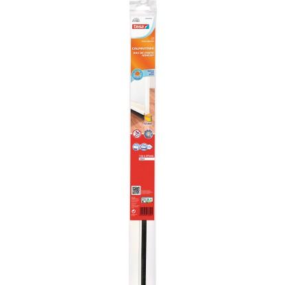 Bas de porte adhésif  spécial sols lisses Tesa - 1 m - Transparent