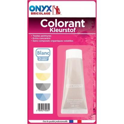 Colorant universel 25 ml Onyx - Blanc