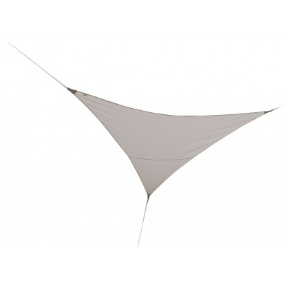 Voile d'ombrage triangulaire Jardiline  - Taupe