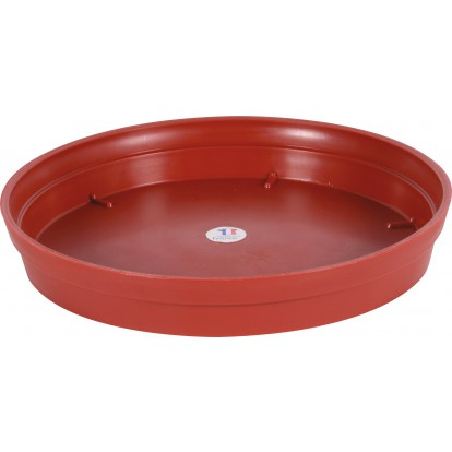 Soucoupe gamme Pop Eda - Diamètre 40 cm - Pour Pot 76 l - Rubis