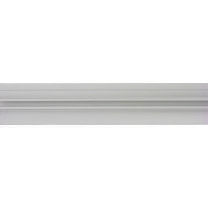 Bande de seuil aluminium naturel Dinac - Longueur 83 cm - Largeur 30 mm