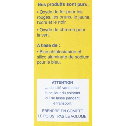 Colorant ciment synthétique Outibat - Rouge foncé - 1000 g