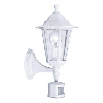 Applique Laterna avec détecteur Eglo - E27 - Blanc