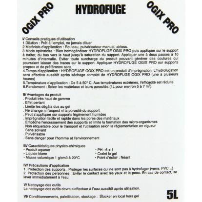 Hydrofuge Ogix Pro - Bidon 4 l