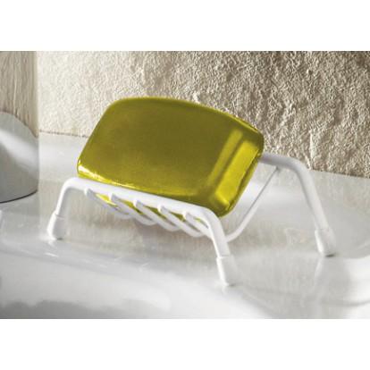 Porte-savon fil Godonnier - Plastifié blanc