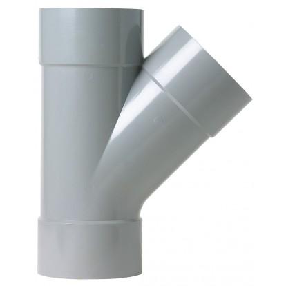 Culotte à 45° Femelle / Femelle Girpi - Diamètre 100 mm