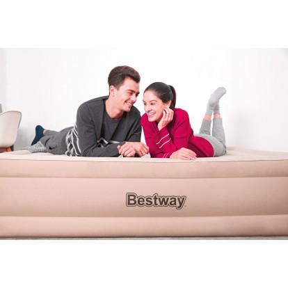 Lit gonflable matelas Fortech Bestway - 2 places  - 203 x 152 x 46 cm