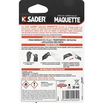 Colle maquette Sader - Flacon 30 ml