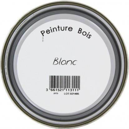 Peinture bois Addict - 0,5 l - Blanc