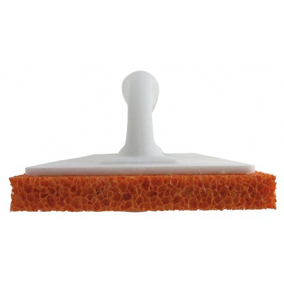 Taloche éponge orange Outibat - Dimensions 14 x 28 cm