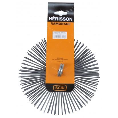 Hérisson rond acier plat SCID - Diamètre 200 mm