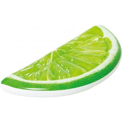 Matelas Citron Vert Tropical Lime Bestway - Longueur 171 cm - Largeur 89,5 cm