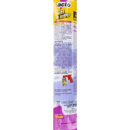 Spécial nids guêpes et frelons Acto - Aérosol 750 ml