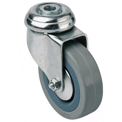 Roulette Uniroll à oeil pivotante Guitel point M - Diamètre 75 mm