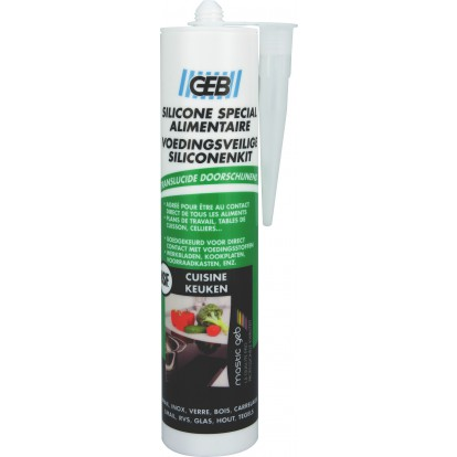 Silicone spécial alimentaire Geb - Cartouche 280 ml