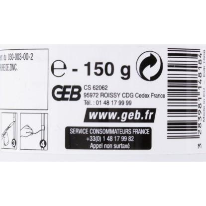 Pâte à souder 2 en 1 Geb - Pot 150 g