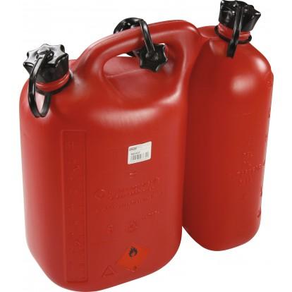 Bidon double essence huile Oregon - 5 et 3 l