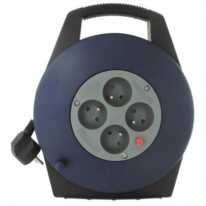 Enrouleur domestique Dhome - H05 VV-F 3G 1 mm² - Longueur 10 m