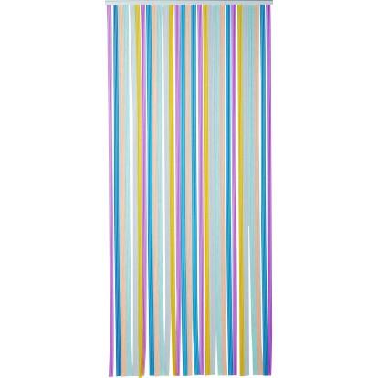rideau de porte lani re tahiti 120 x 220 cm multicolore de rideau de porte lani re. Black Bedroom Furniture Sets. Home Design Ideas