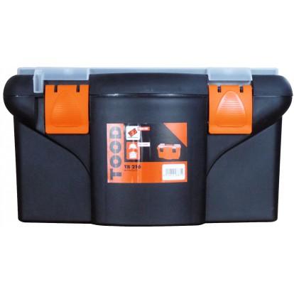 Boîte à outils plastique Tood - Longueur 420 mm