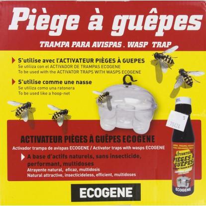 Piège à guêpes plastique Ecogène