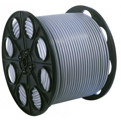 Câble H05 VV-F mètré 1,5 mm² Dhome - Touret - Blanc - Longueur 350 m