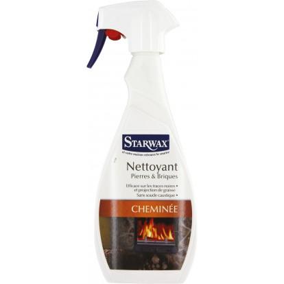 Nettoyant pierre-brique cheminée Starwax - Pulvérisateur 500 ml