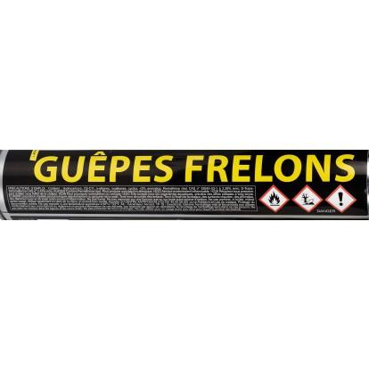 Insecticide guêpes et frelons asiatiques triple action Alto -  Longue portée - Aérosol 750 ml
