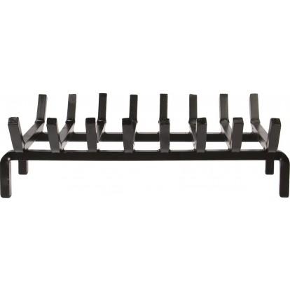 Porte-bûches acier forgé 8 barres PVM - Longueur 50 cm - Profondeur 30 cm