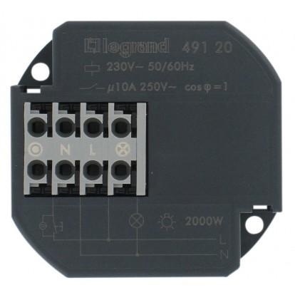 Télérupteur à encastrer 10 A Legrand - Unipolaire 230 V