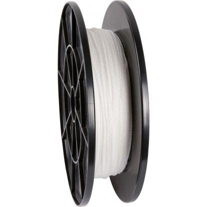 Drisse polyamide tressé blanc Corderies Tournonaises - Longueur 100 m - Diamètre 2 mm