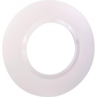 Plaque Dooxie Legrand - Ronde - 2 modules - Blanc