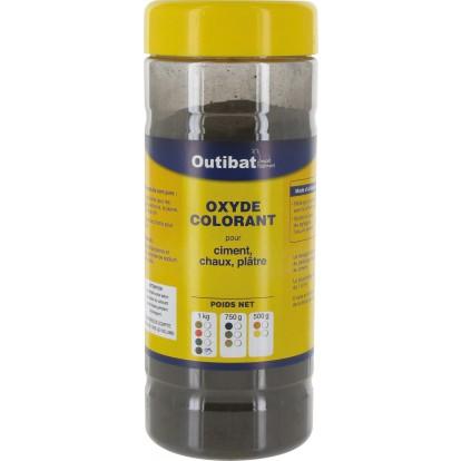Colorant ciment synthétique Outibat - Noir - 1000 g