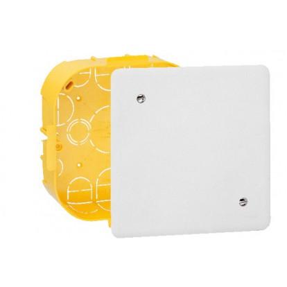 Boîte à encastrer pour mur creux Legrand - Dimensions Plaque 165 x 120 mm - Boîte 160 x 105 mm